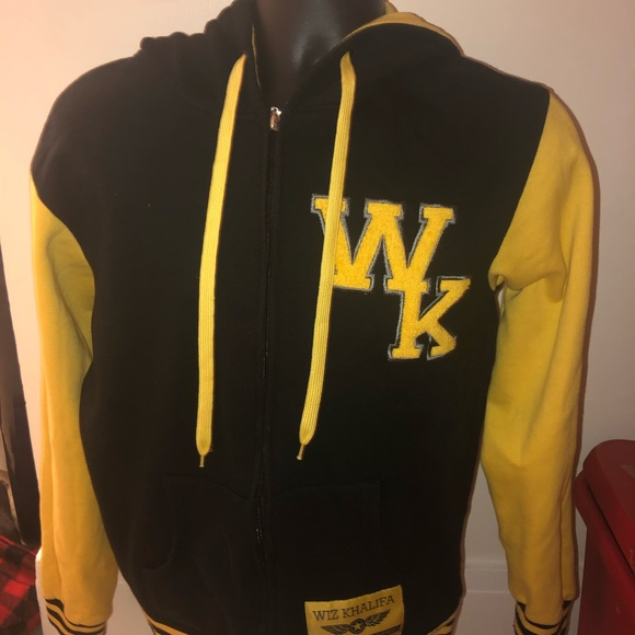 678f4a01b723 Wiz Khalifa Varsity Jacket. M 5bf9f898e944ba9b281e9276